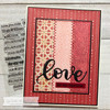 Love Wordfetti Clear Stamp Set