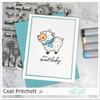 Sweet Little Lamb Clear Stamp Set
