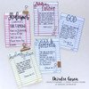 Creative Worship: Your Story Clear Stamp Set