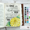 Creative Worship: Bold & Outline Caps Alpha Clear Stamp Set