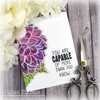 Dazzling Dahlia Clear Stamp Set