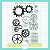 Gear Up Clear Stamp Set