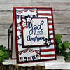 God Bless America Clear Stamp Set