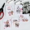 Coffee Talk Clear Stamp Set