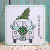 Vintage Van Clear Stamp Set