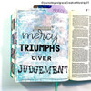 Creative Worship: Old Fashioned Alpha Clear Stamp Set