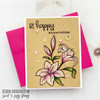 Birthday Wordfetti Clear Stamp Set