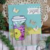 I Like Big Cups Clear Stamp Set
