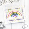 Faith Phrases Clear Stamp Set