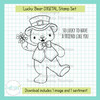 Lucky Bear DIGITAL Stamp Set