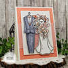 Mr. & Mrs. Clear Stamp Set
