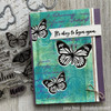 April Stamp of the Month: Butterfly Background
