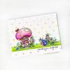 Snail Village Clear Stamp Set