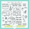 Happy Camper Stamp & Die Bundle