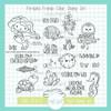 Fin-tastic Friends Stamp & Die Bundle