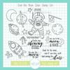 Over the Moon Stamp & Die Bundle