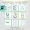 July 2021 New Release Bundle