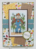 Happy Scarecrow Digi Stamp