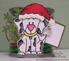 Santa Hat Digital Stamp