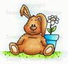 Benjamin Bunny Colored Tan Digital Stamp