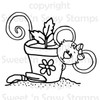 Gardening Cookie Digital Stamp