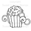 Cocoa's Popcorn Digital Stamp