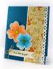 4 Petal Flowers Digital Stamp Set