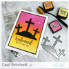 Jesus Paid It All Clear Stamp Set