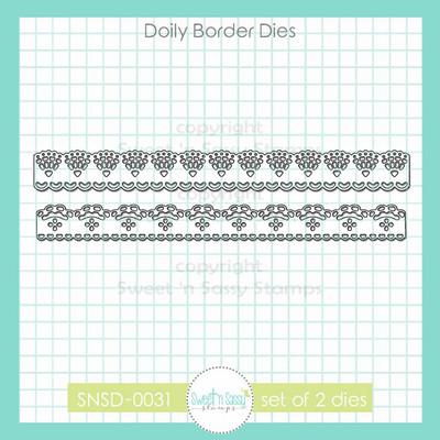 Doily Border Dies