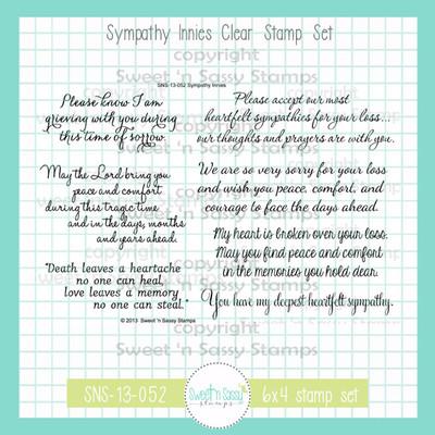 Sympathy Innies Clear Stamp Set