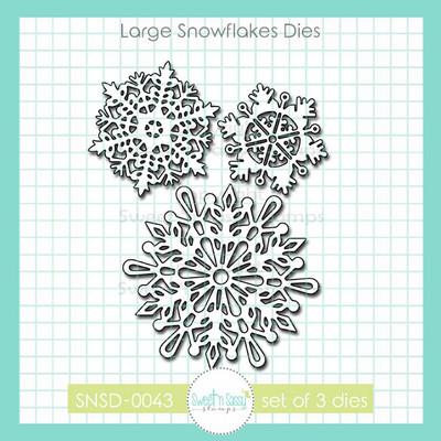 Large Snowflakes Die Set