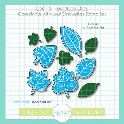 Leaf Silhouettes Die Set