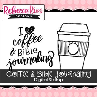 Coffee & Bible Journaling Digital Set