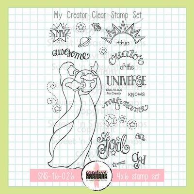 Creative Worship: My Creator Clear Stamp Set