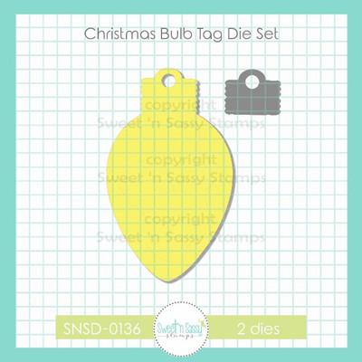 Christmas Bulb Tag Die Set