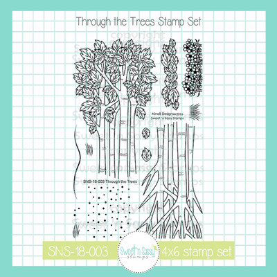 Through the Trees Clear Stamp Set