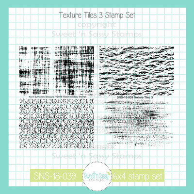 Texture Tiles 3 Clear Stamp Set