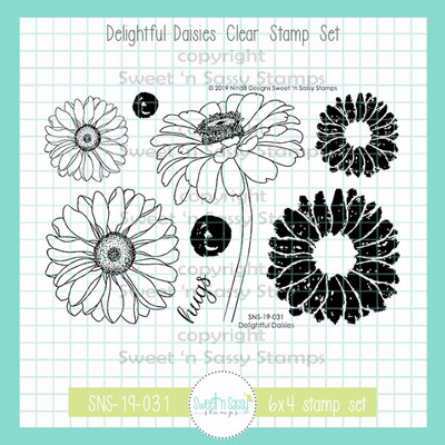 Delightful Daisies Clear Stamp Set
