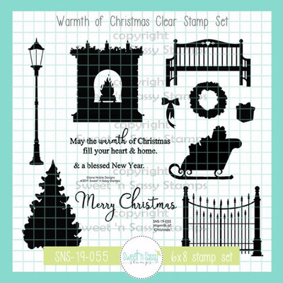 Warmth of Christmas Clear Stamp Set