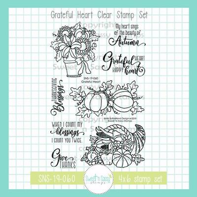 Grateful Heart Clear Stamp Set