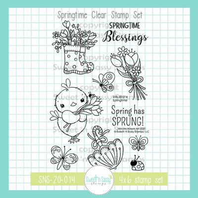 Springtime Clear Stamp Set