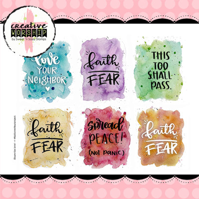 Faith Over Fear Project FREE Digital Download
