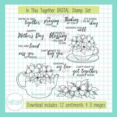 In This Together DIGITAL Stamp Set