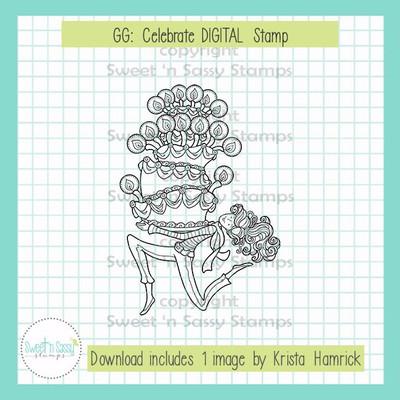 GG: Celebrate DIGITAL Stamp
