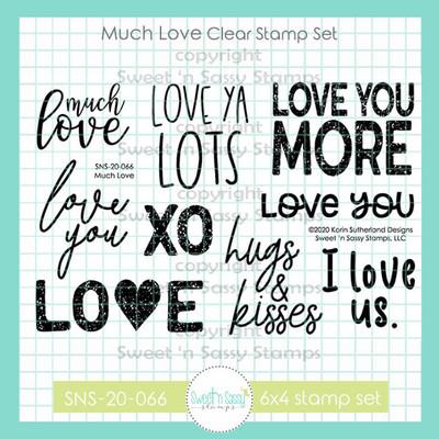 Much Love Clear Stamp Set