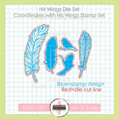 Creative Worship: His Wings Die Set