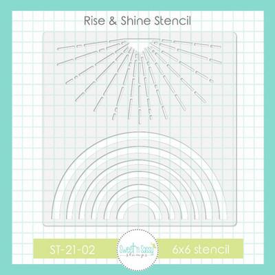 Rise & Shine Stencil