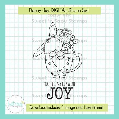 Bunny Joy DIGITAL Stamp Set