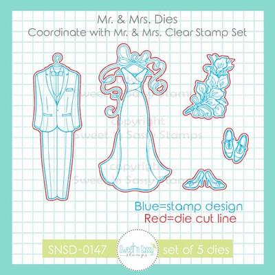 Mr. & Mrs. Die Set