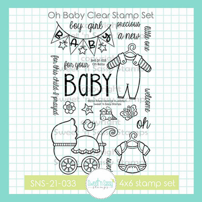 Oh Baby Clear Stamp Set